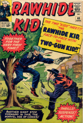 Rawhide Kid Vol.1 (Atlas/Marvel - 1955) -40- The Rawhide Kid, Face-to-Face with the Two-Gun Kid!!