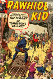 Rawhide Kid Vol.1 (Atlas/Marvel - 1955) -41- The Tyrant of Tombstone Valley!