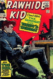 Rawhide Kid Vol.1 (Atlas/Marvel - 1955) -42- The Gunfight with Yerby's Yahoos!