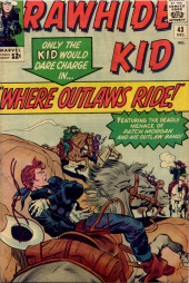 Rawhide Kid Vol.1 (Atlas/Marvel - 1955) -43- Where Outlaws Ride!