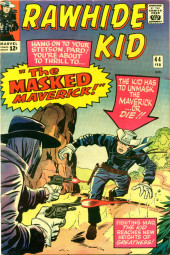 Rawhide Kid Vol.1 (Atlas/Marvel - 1955) -44- The Masked Maverick!