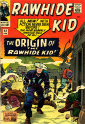 Rawhide Kid Vol.1 (Atlas/Marvel - 1955) -45- The Origin of the Rawhide Kid!