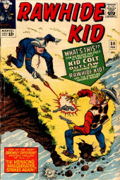 Rawhide Kid Vol.1 (Atlas/Marvel - 1955) -50- The Menacing Masquerader Strikes Again!