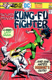 Richard Dragon, Kung-Fu Fighter (DC Comics - 1975) -5- Her Name Is Lady Shiva...And She Hates Dragon's Guts!