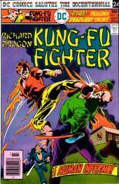Richard Dragon, Kung-Fu Fighter (DC Comics - 1975) -10- The Human Inferno!