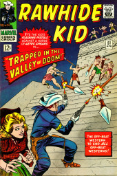 Rawhide Kid Vol.1 (Atlas/Marvel - 1955) -51- Trapped in the Valley of Doom!