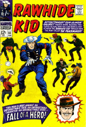 Rawhide Kid Vol.1 (Atlas/Marvel - 1955) -56- Fall of a Hero!