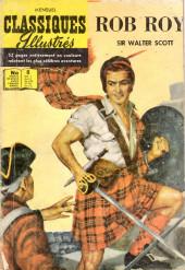 Classiques illustrés (1re Série) -8- Rob Roy