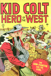 Kid Colt Outlaw (Marvel - 1948) -2- The Gun-Fighter and the Girl!