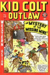 Kid Colt Outlaw (Marvel - 1948) -5- The Mystery of the Missing Mine!