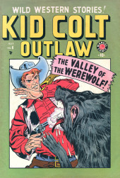 Kid Colt Outlaw (Marvel - 1948) -6- The Valley of the Werewolf!