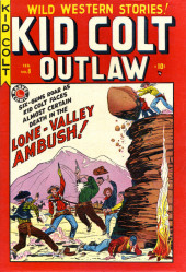 Kid Colt Outlaw (Marvel - 1948) -8- Lone-Valley Ambush!