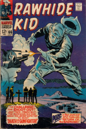 Rawhide Kid Vol.1 (Atlas/Marvel - 1955) -66- Death of a Gunfighter!