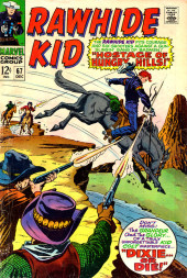 Rawhide Kid Vol.1 (Atlas/Marvel - 1955) -67- Hostage of Hungry Hills!