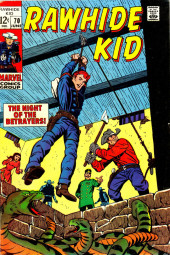 Rawhide Kid Vol.1 (Atlas/Marvel - 1955) -70- The Night of the Betrayers!