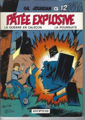 Gil Jourdan -12a1983- Pâtée explosive -La guerre en caleçon - La poursuite