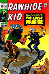 Rawhide Kid Vol.1 (Atlas/Marvel - 1955) -71- The Last Warrior!