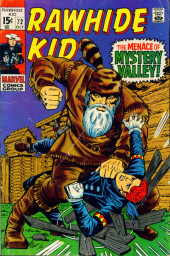 Rawhide Kid Vol.1 (Atlas/Marvel - 1955) -72- The Menace of Mystery Valley!