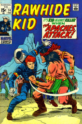 Rawhide Kid Vol.1 (Atlas/Marvel - 1955) -74- The Apaches Attack!