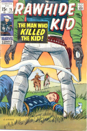 Rawhide Kid Vol.1 (Atlas/Marvel - 1955) -75- The Man Who Killed the Kid!