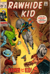 Rawhide Kid Vol.1 (Atlas/Marvel - 1955) -78- The Badmen and the Kid!