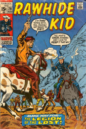Rawhide Kid Vol.1 (Atlas/Marvel - 1955) -79- The Legion of the Lost!
