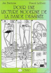 (DOC) Études et essais divers - Pour une lecture moderne de la bande dessinée