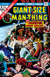 Man-Thing (Giant Size) (Marvel - 1974) -2- The Monster Runs Wild!