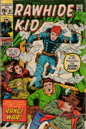 Rawhide Kid Vol.1 (Atlas/Marvel - 1955) -81- Range War!