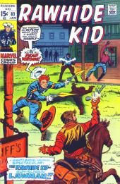 Rawhide Kid Vol.1 (Atlas/Marvel - 1955) -83- The Rawhide Kid -- Gun-slingin' Lawman!!