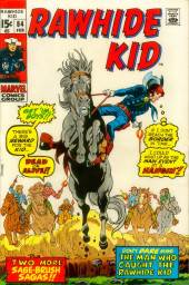 Rawhide Kid Vol.1 (Atlas/Marvel - 1955) -84- The Man Who Caught the Rawhide Kid!
