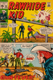 Rawhide Kid Vol.1 (Atlas/Marvel - 1955) -88- Gun-Fever!