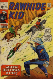 Rawhide Kid Vol.1 (Atlas/Marvel - 1955) -89- When Outlaws Ride!
