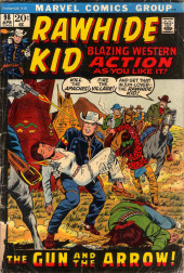 Rawhide Kid Vol.1 (Atlas/Marvel - 1955) -98- The Gun and the Arrow!