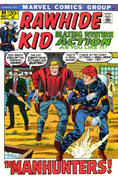 Rawhide Kid Vol.1 (Atlas/Marvel - 1955) -99- The Manhunters!