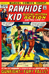 Rawhide Kid Vol.1 (Atlas/Marvel - 1955) -100- Gunfight at Fury Falls!