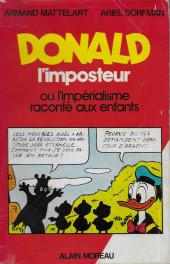 (DOC) Études et essais divers - Donald l'imposteur ou l'impérialisme raconté aux enfants