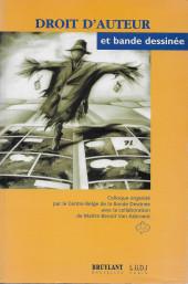 (DOC) Études et essais divers - Droit d'auteur et bande dessinée