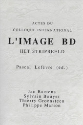 (DOC) Études et essais divers - L'image BD. Het Stripbeeld. Acte du colloque international.