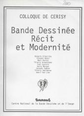 (DOC) Études et essais divers - Bande dessinée, récit et modernité. Colloque de Cerisy.
