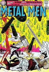 Metal Men Vol.1 (DC Comics - 1963) -1- Rain of the Missile Men!