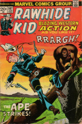 Rawhide Kid Vol.1 (Atlas/Marvel - 1955) -107- The Ape Strikes!