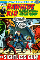 Rawhide Kid Vol.1 (Atlas/Marvel - 1955) -110- The Sightless Gun!