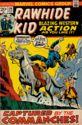 Rawhide Kid Vol.1 (Atlas/Marvel - 1955) -114- Captured by the Commanches!