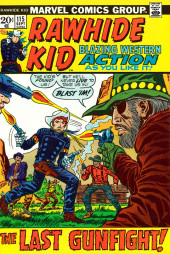 Rawhide Kid Vol.1 (Atlas/Marvel - 1955) -115- The Last Gunfight!