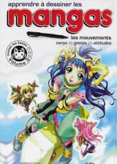 (DOC) Le Dessin de Manga -3- Apprendre à dessiner les Mangas. Les mouvements