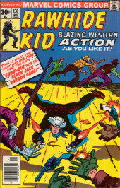 Rawhide Kid Vol.1 (Atlas/Marvel - 1955) -136- Shoot-Out with the Black Jack Bordon Gang!