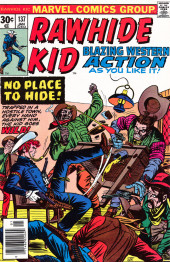 Rawhide Kid Vol.1 (Atlas/Marvel - 1955) -137- No Place to Hide!