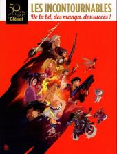 (Catalogues) Éditeurs, agences, festivals, fabricants de para-BD... - Glénat - 50 ans d'édition Glénat - Les incontournables de la BD, des manga, des succès !
