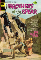 Brothers of the Spear (Gold Key - 1972) -10- The Deadly Maze